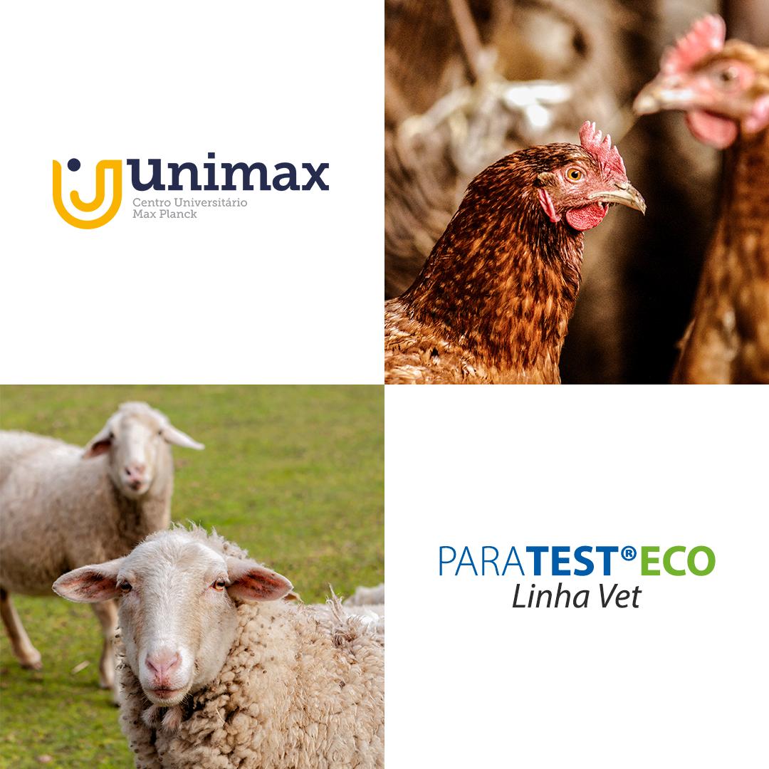 PARATEST®ECO Linha Vet tem eficácia comprovada em amostras de aves e ovinos.